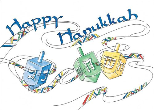 Beautiful Happy Hanukkah Symbols Pictures