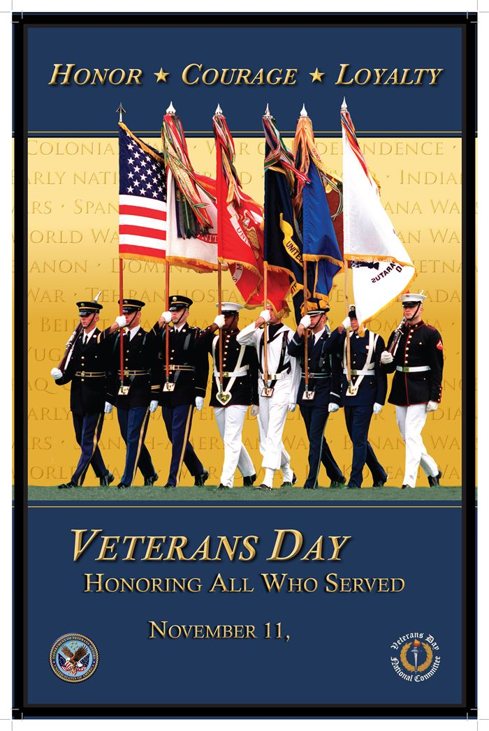 Best Free Happy Veterans Day Posters For Facebook