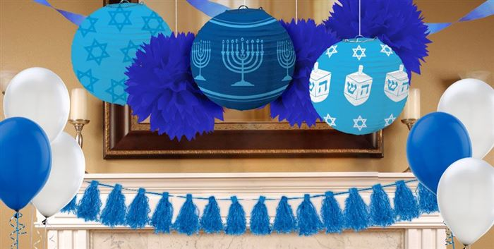 Beautiful Images Of Happy Hanukkah Decorations