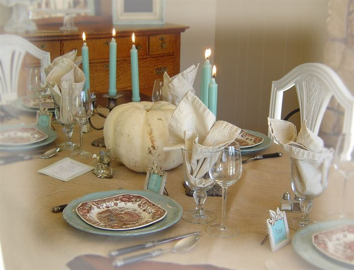 Beautiful Images Of Happy Thanksgiving Table Settings