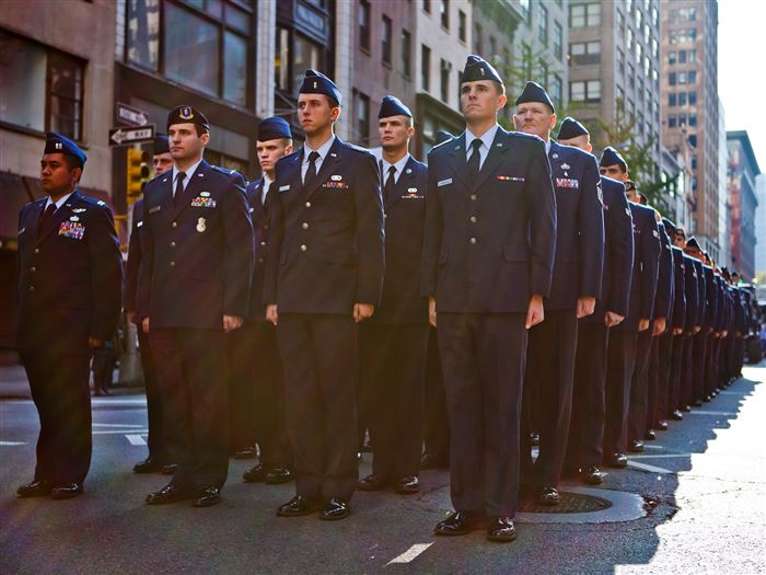 Meaningful NYC Veterans Day Parade Photos