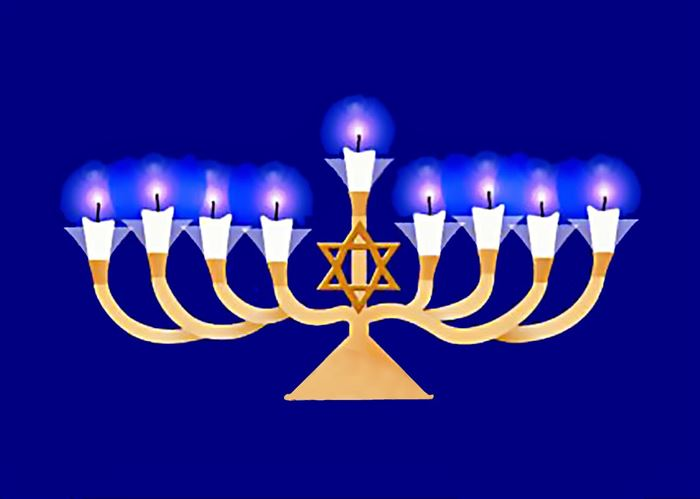Beautiful Pictures Of Happy Hanukkah Candles