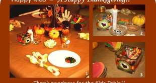 Beautiful Pictures Of Happy Thanksgiving Table Decorations