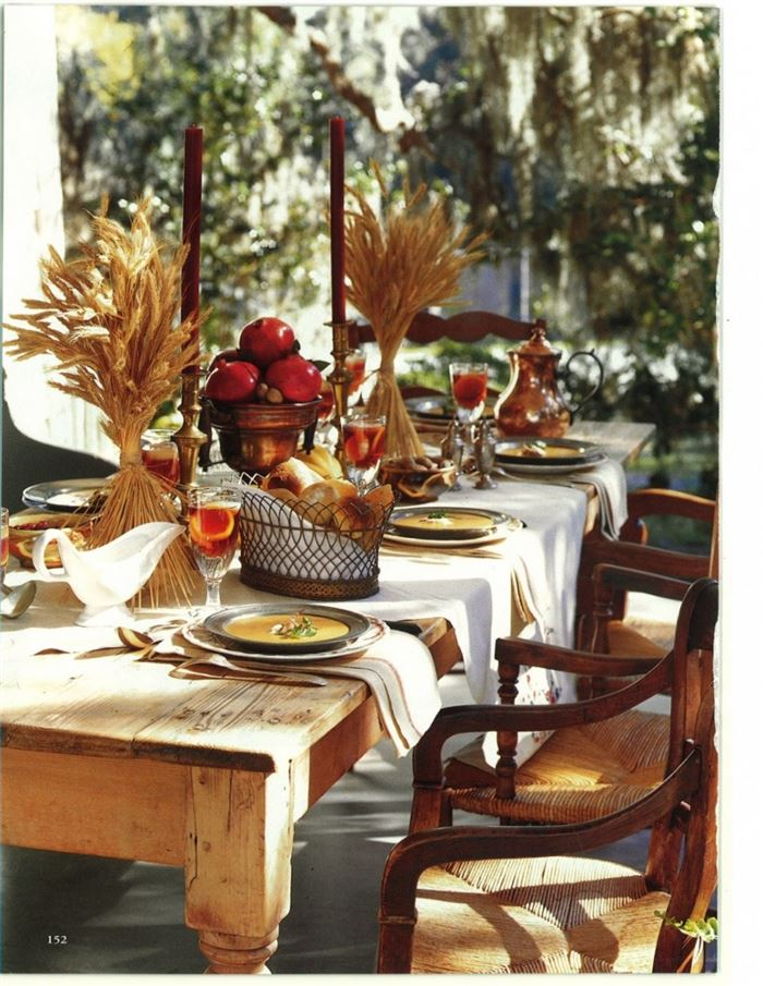 Free Pictures Of Happy Thanksgiving Table Decorations
