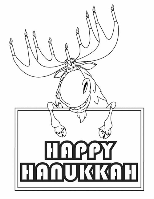 Best Free Happy Hanukkah Pictures To Color