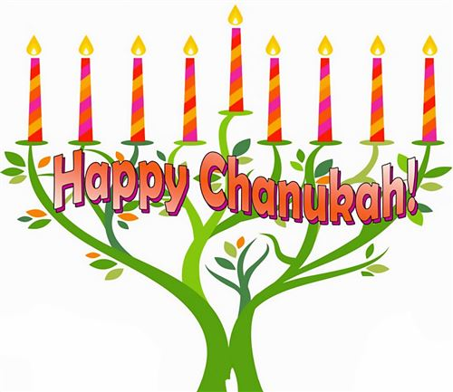 Best Happy Hanukkah Clip Art Menorahs