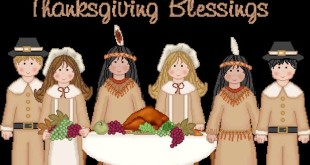 Best Happy Thanksgiving Blessings Clip Art
