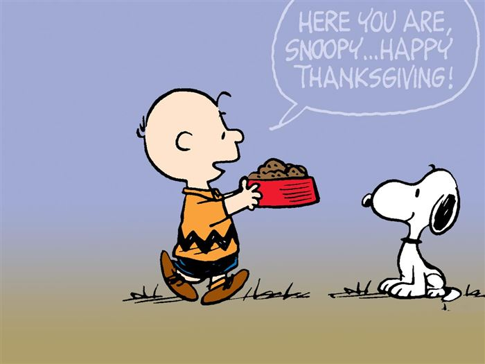 Unique Happy Thanksgiving Pics Of Charlie Brown