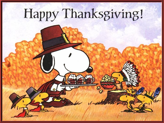 Beautiful Happy Thanksgiving Pics Of Charlie Brown
