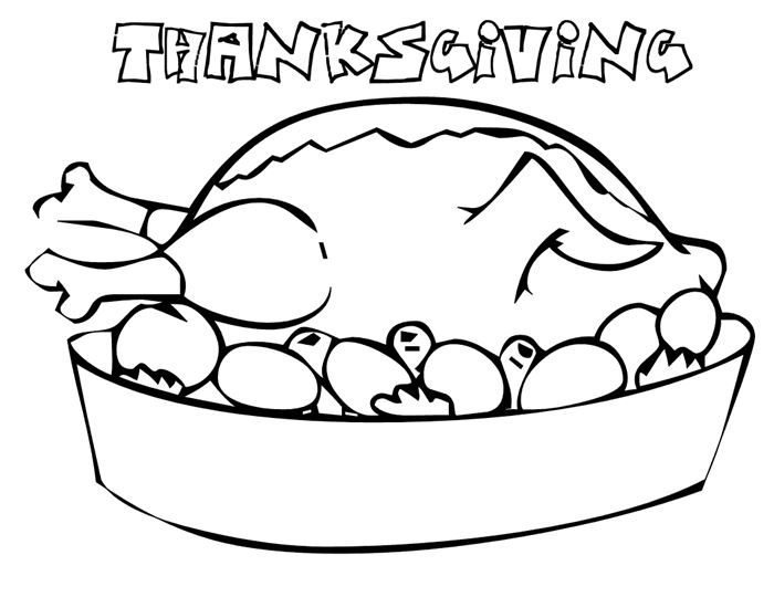 Beautiful Happy Thanksgiving Turkey Pictures To Color