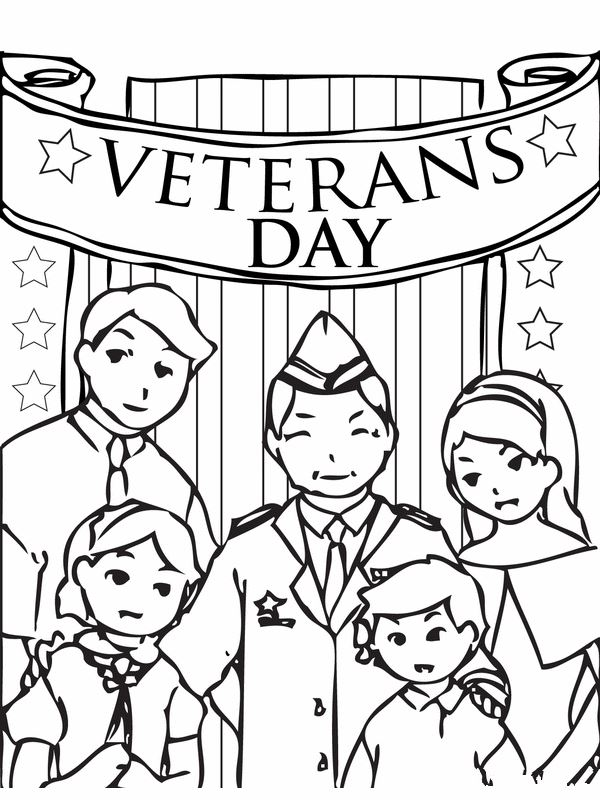 Meaningful Happy Veterans Day Pics To Color