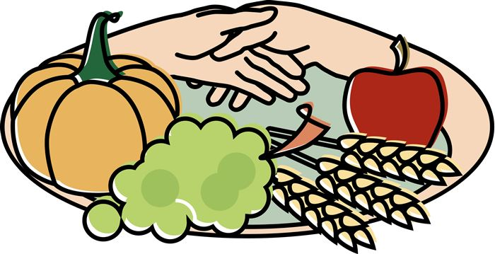 Best Thanksgiving Dinner Plate Clip Art