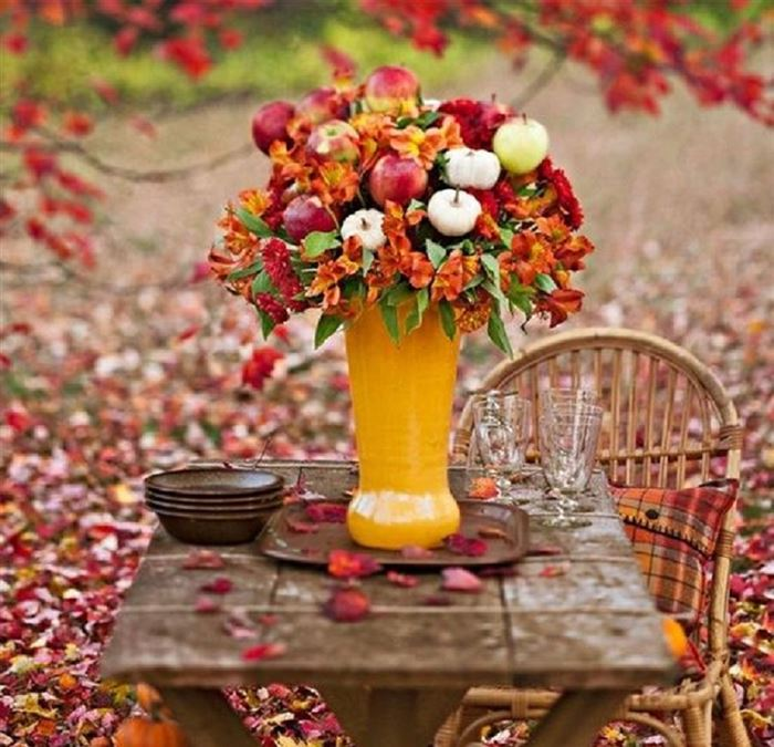 Easy Pictures Of Happy Thanksgiving Table Settings