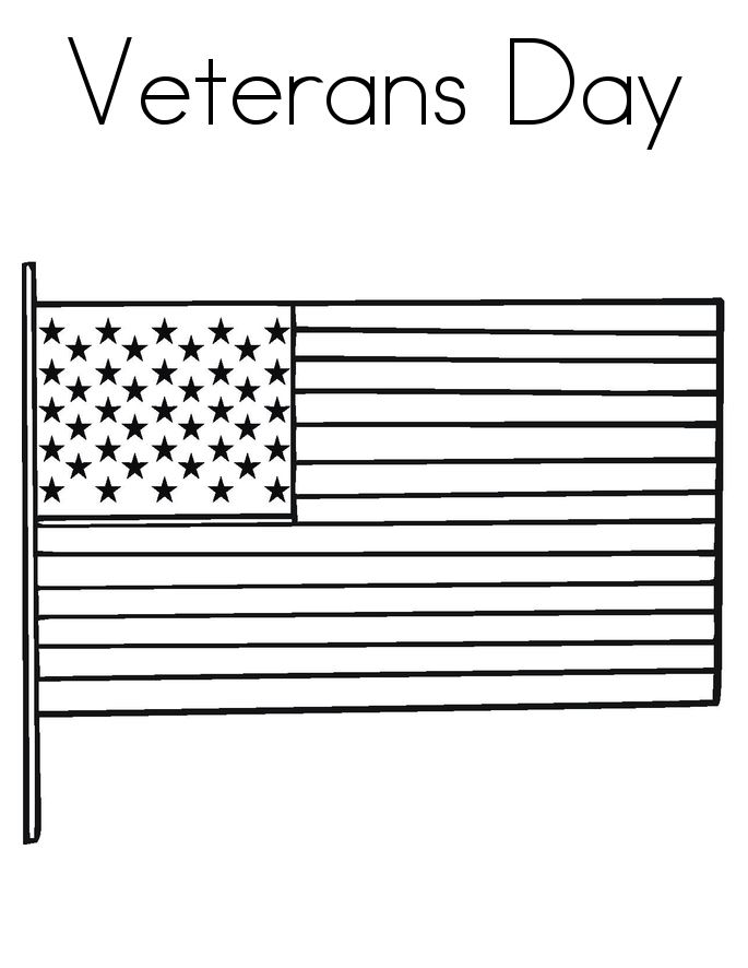 Free Beautiful Coloring Pictures Of Veterans Day