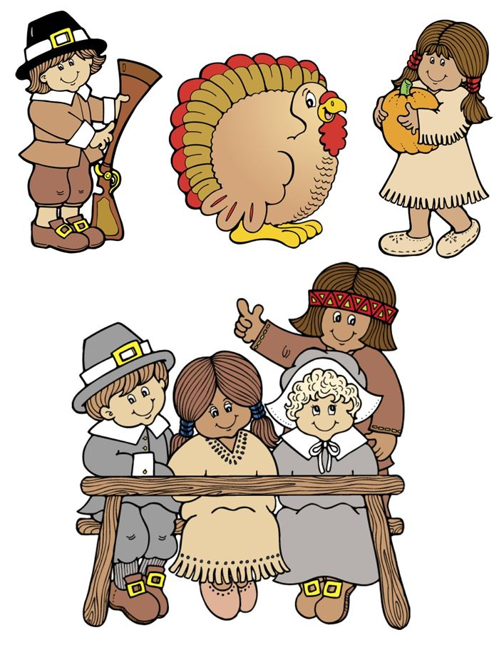 Beautiful Happy Thanksgiving Clipart For Kids Free