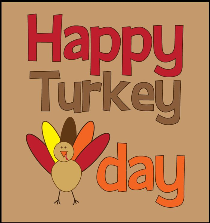 Best Happy Thanksgiving Clipart For Kids Free