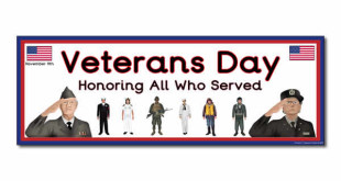 Free Printable Happy Veterans Day Banners