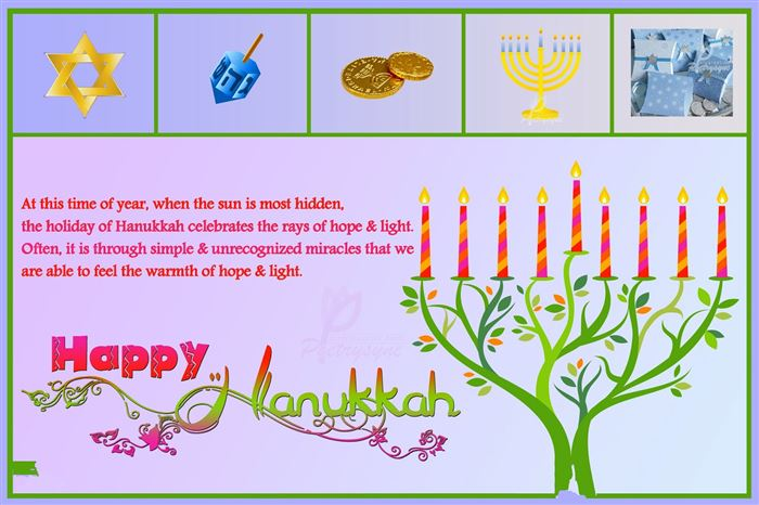Meaningful Happy Hanukkah Photo Greeting Cards