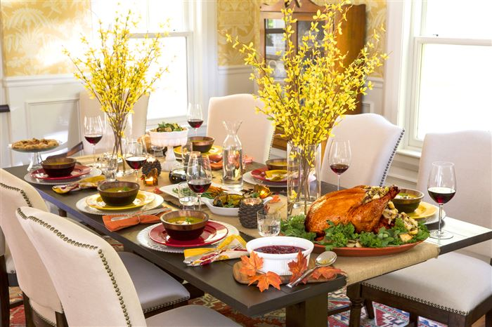Unique Happy Thanksgiving Table Decorations With Pictures