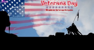 Meaningful Happy Veterans Day Poster With Slogans