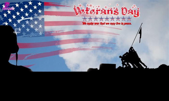 Best Free Happy Veterans Day Poster With Slogans