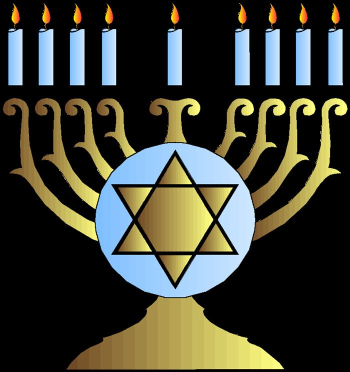 Best Free Clip Art Happy Hanukkah Candles