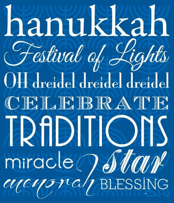 Unique Happy Hanukkah Menorah Photos