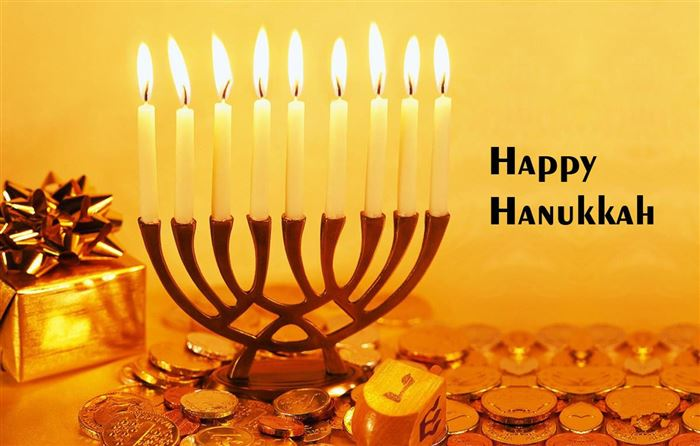 Best Free Happy Hanukkah Menorah Photos