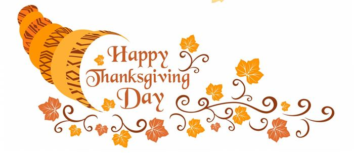 Beautiful Happy Thanksgiving Clip Art Banners