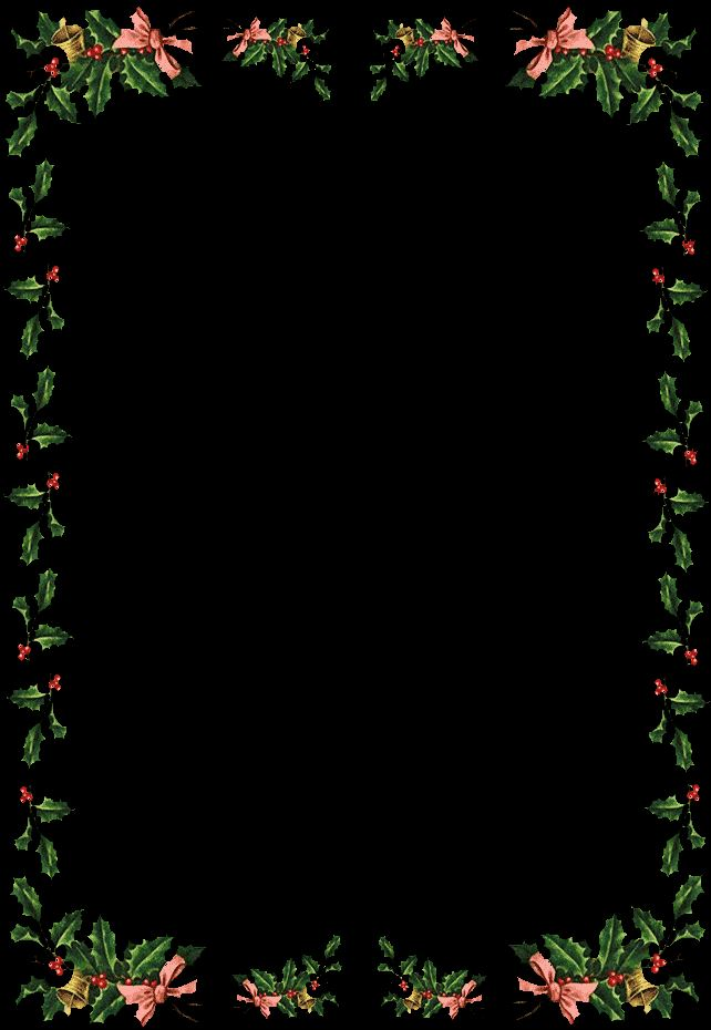 Unique Christmas Border Templates For Mac