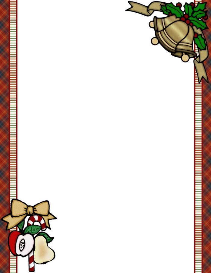Free Unique Christmas Border Templates For Pictures
