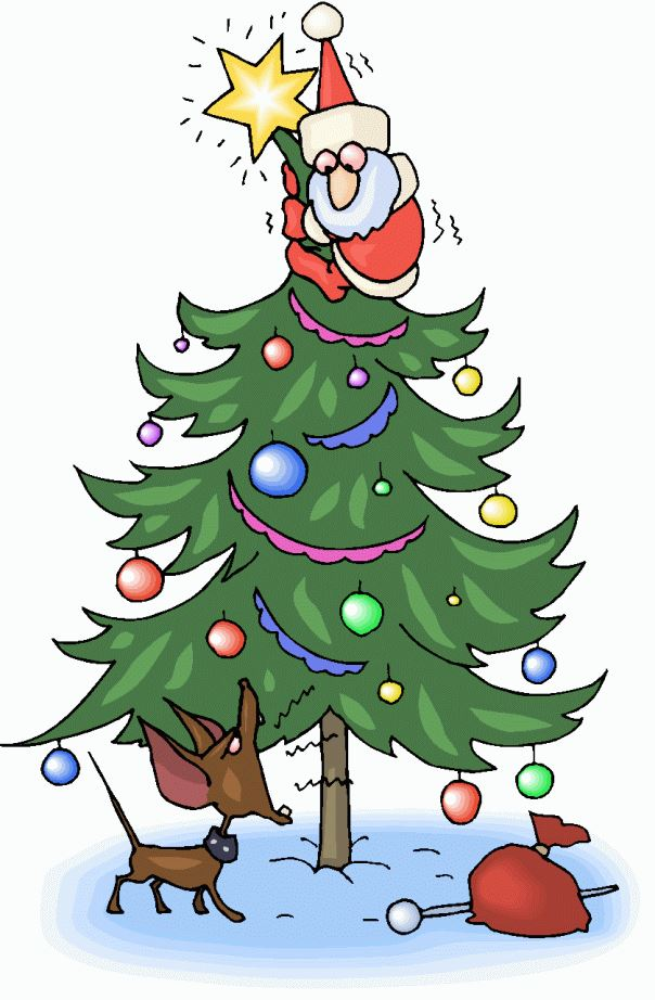 Free Unique Xmas Tree Pictures Cartoons