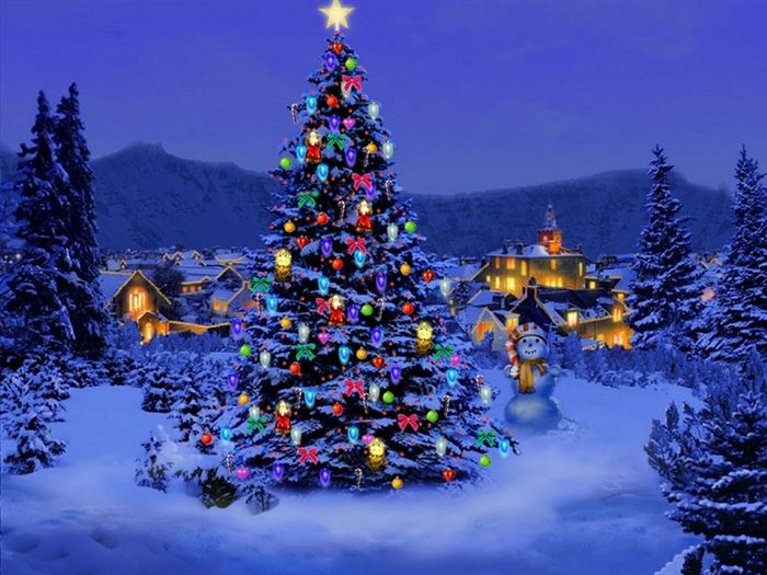 Free Beautiful Xmas Tree Pictures For Facebook