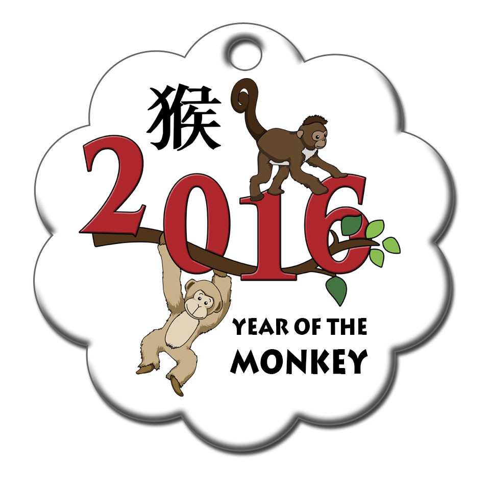 Best Free Happy Chinese New Year Symbols Monkey