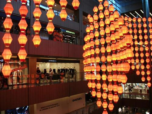 Beautiful Chinese New Year Decorations In Singapore