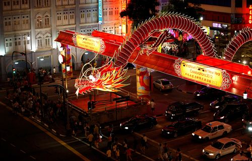 Unique Chinese New Year Decorations In Singapore