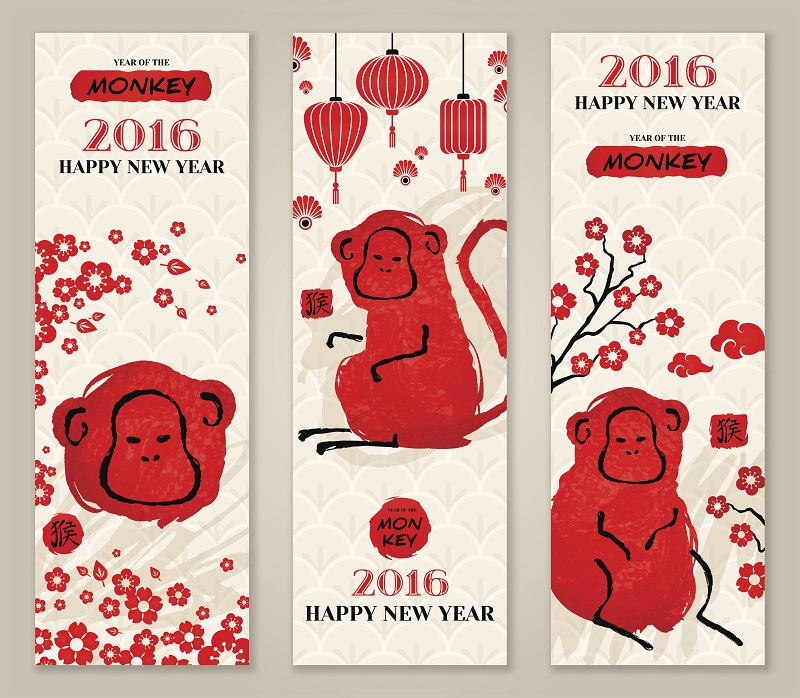 Unique Chinese New Year Monkey Images Free