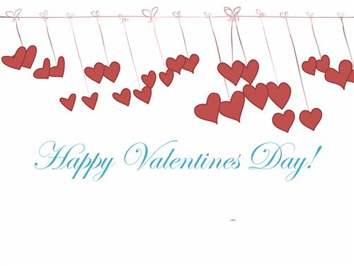 Beautiful Valentine's Day Card Templates For Microsoft Word