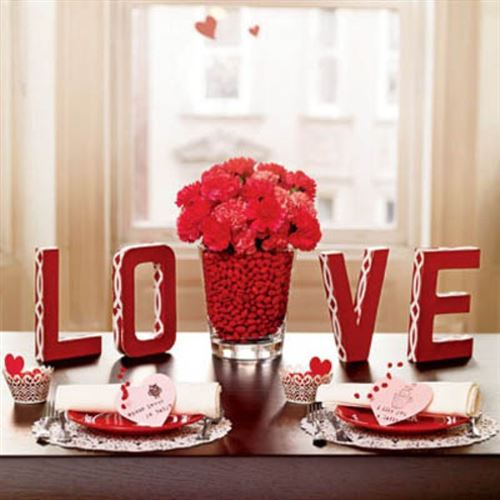 Romantic Valentine's Day Decoration Ideas At Home