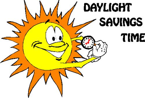 Best Free Daylight Saving Time Clip Art