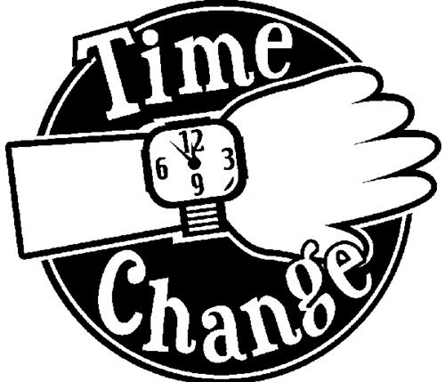 Daylight Savings Time Clip Art Spring Forward