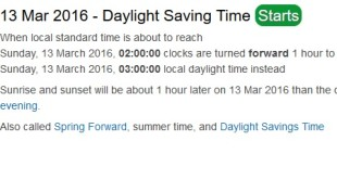 When Does Daylight Savings Time In Sacramento, California