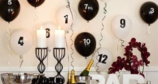 Beautiful Beautiful Happy New Year Tables Decorations Ideas