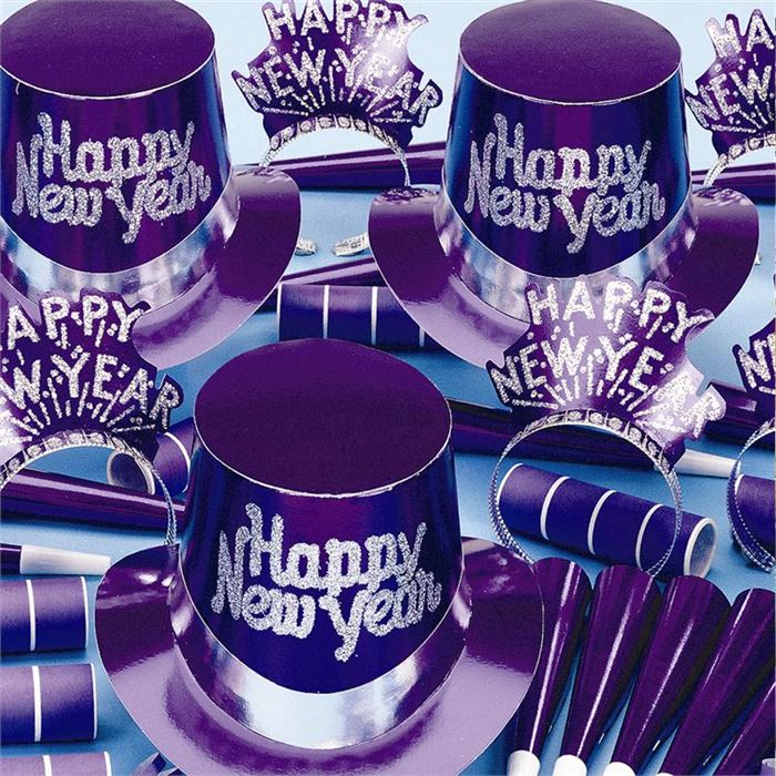 Easy Happy New Year Tables Decorations Ideas