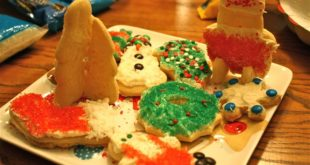 Top Homemade Happy New Year Biscuit Decorations Ideas