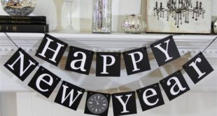 Unique Happy New Year Party Decorations Ideas