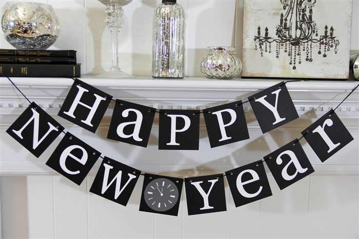 Meaningful Happy New Year Party Decorations Ideas