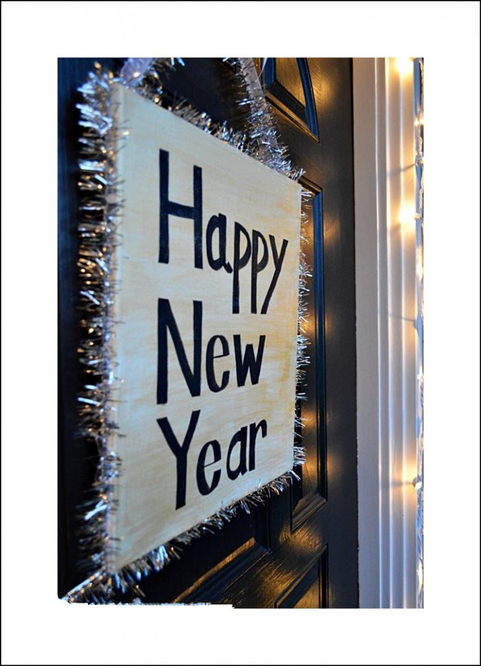 Beautiful Happy New Year Party Decorations Ideas